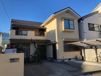 静岡市駿河区 M様邸屋根補修・外壁塗装改修工事