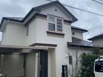 藤枝市 K様邸 外壁・屋根塗装リフォーム事例