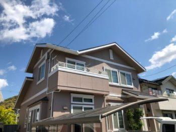島田市 T様邸 外壁・屋根塗装リフォーム事例