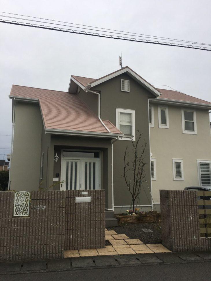 静岡市駿河区 N様邸外壁・屋根塗装改修工事
