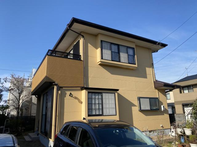 藤枝市 I様邸 外壁・屋根塗装リフォーム事例