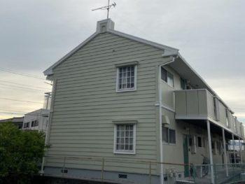 島田市 A様所有アパート 外壁・屋根塗装リフォーム事例