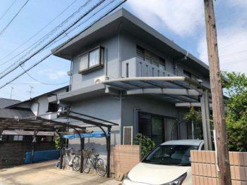 静岡市清水区 A様邸 外壁塗装・防水リフォーム事例