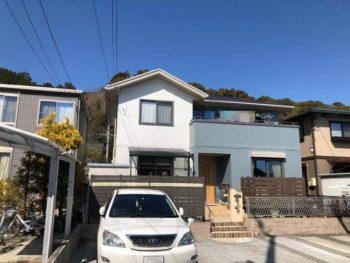 島田市 S様邸 外壁・屋根塗装リフォーム事例