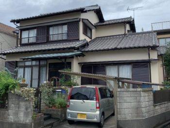 藤枝市 I様邸 外壁塗装リフォーム事例