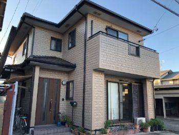 静岡市清水区 N様邸 外壁塗装リフォーム事例