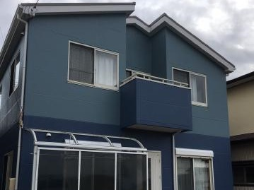 焼津市 F様邸 外壁・屋根塗装リフォーム事例