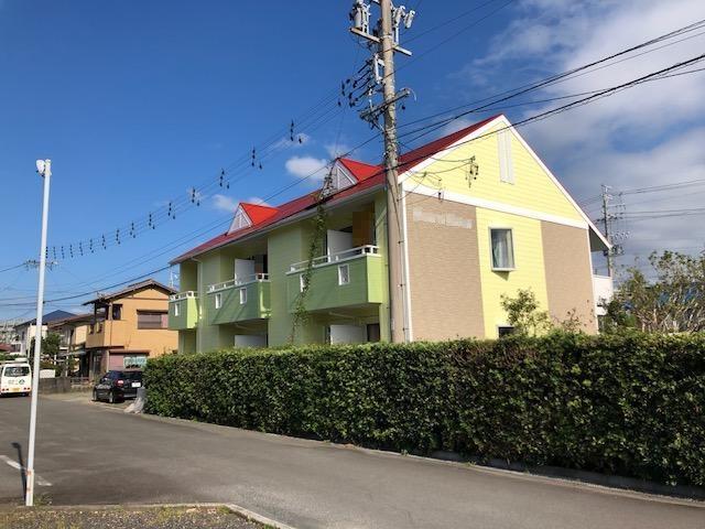 焼津市 Y様所有アパート 外壁・屋根塗装リフォーム事例